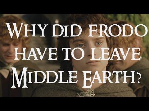 Proč musel Frodo opustit Středozem?