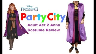 Anna Frozen 2 Costume Review: Party City Adult Act II Anna Dress