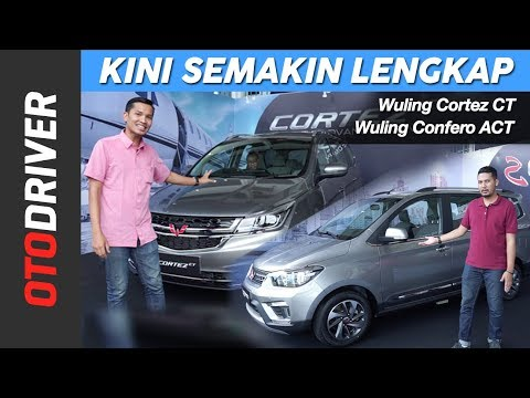 Wuling Cortez CT & Wuling Confero S ACT 2019 | First Drive | OtoDriver
