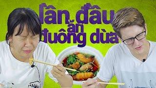 Lần đầu ăn Đuông dừa.. | Trong Trắng 18
