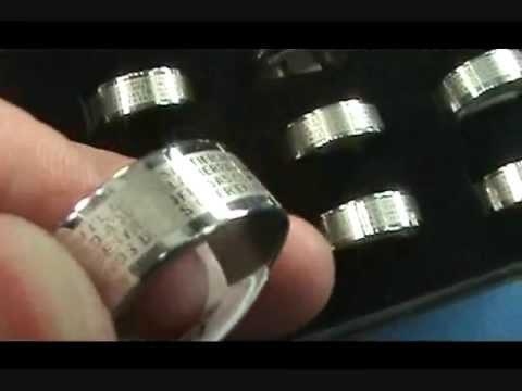 stainless steel unisex rings wholesalesarong.com