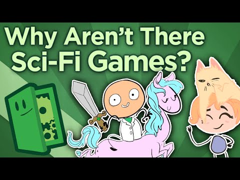 Why Aren't There Science Fiction Games? - The Philosophy of Fantasy vs. Sci-Fi - Extra Credits