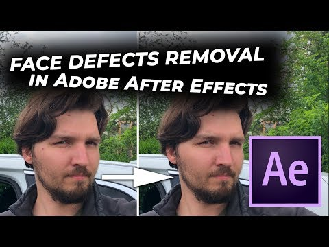 After Effects Tutorial 07  Blemish Removal - игровое видео