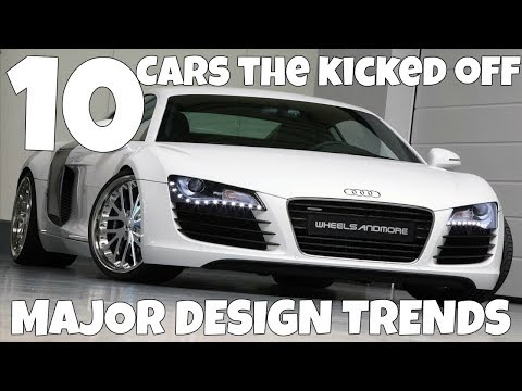 10 Cars That Kicked Off Major Design Trends