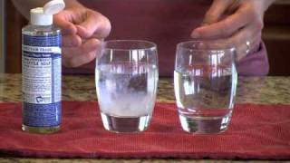 Soap Test for Water Hardness
