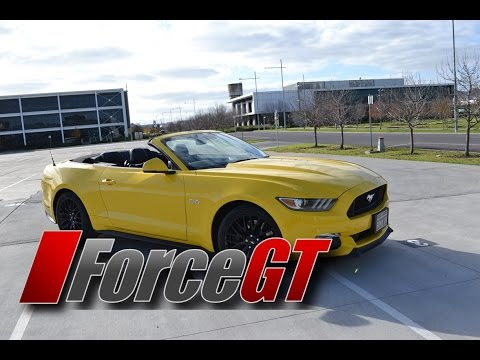 2016 Ford Mustang GT Convertible - Walk Around / Interior Details