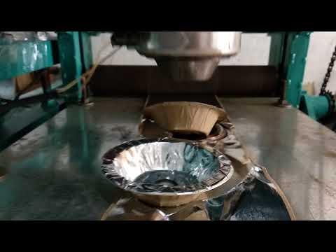Fully Automatic Dona Pattal Making Machine