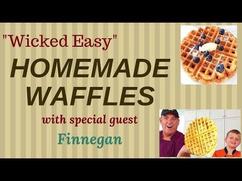 Wicked Easy Homemade Waffles