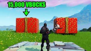 Pick The Right Present, Get 15,000 VBUCKS - Fortnite