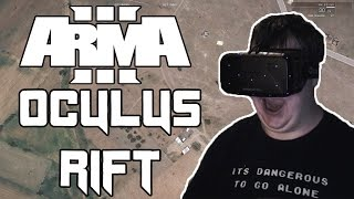 SKYDIVE IN VR - Arma 3 with OCULUS RIFT!