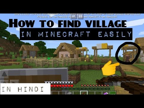 How to find village in minecraft easily with proof | Tech Gyaani Anurag