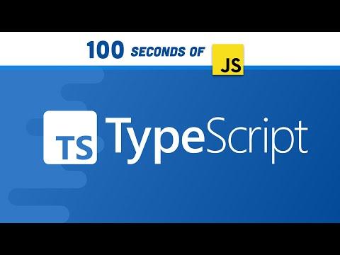 TypeScript in 100 seconds