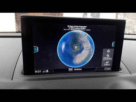Audi A3 8V MIB2 System With Apple CarPlay Retrofitted