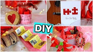 DIY - Last Minute Valentines Day Gift Ideas For Him/her ( Pinterest Inspired )