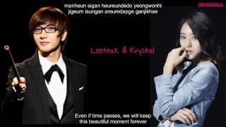 Leeteuk & Krystal - Grumbling Eng Sub & Romanization Lyrics