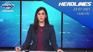 Indus News Bulletin   13:00 UTC   23rd July 2021