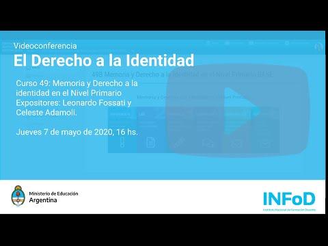 Imagen de Videoconferencia: El Derecho a la Identidad