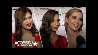 Alexandra Daddario, Emily Ratajkowski & Zoey Deutch On Being Marie Claire's Fresh Faces