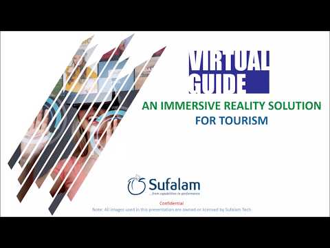 Virtual Guide - An Immersive Reality Solution for Tourism