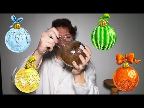Как самому сделать елочные игрушки?