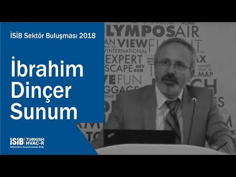 İSİB Sektör Buluşması 2018 – İbrahim Dinçer Sunum