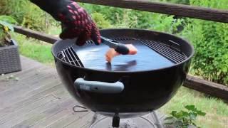 Grillen mit der dacaso BBQ Grillmatte - perfektes Grillgut - gesund und sauber
