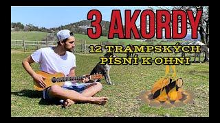 Video 3 akordy (D, G, A) - 12 trampských písní k ohni