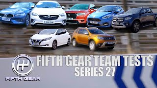 ALL Fifth Gear Team Tests - Series 27 | Fifth Gear by Fifth Gear
