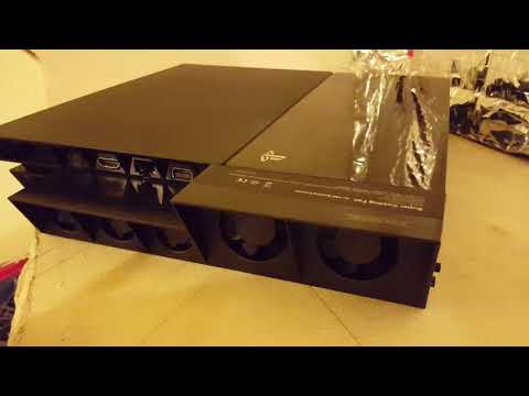 Umboxing d un ventilateur ps4