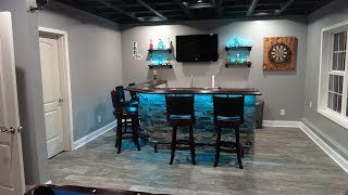 Custom Finished Basement Walkthrough 2018