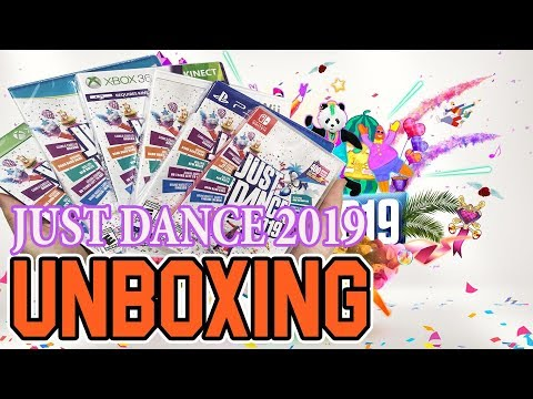 Just Dance 2019 (Switch/Wii/Wii U/PS4/Xbox One/Xbox 360) Unboxing!!