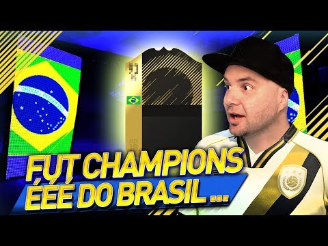 É É É DO BRASILLLLL - PREMIAÇÃO DO FUT CHAMPIONS - FIFA 18 ULTIMATE TEAM
