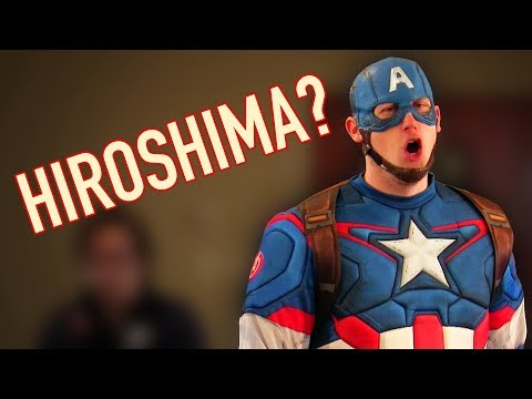 Captain America Doesn't Know About Hiroshima