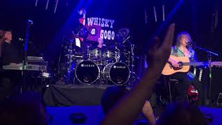 "Zebra 12/01/2018 at Whisky a GoGo.  ""Who's Behind the Door"" with intro"