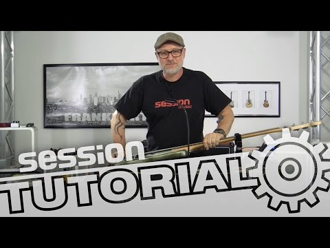 session Tutorial: E-Bass-Saiten wechseln