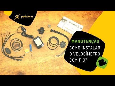 Pedaleria - Como instalar o ciclocomputador/velocimetro com fio na bike?