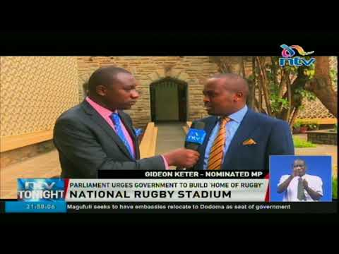 Parliament urges government to build 'Home Of Rugby'