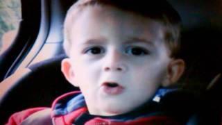 The cutest little boy singing...