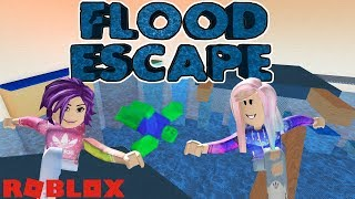 Roblox: Flood Escape  Push The Buttons And Parkour To Escape The Flooding Facility!