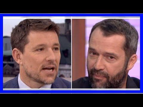 Good Morning Britain's Ben Shephard 'man crushes' on Rome star James Purefoy By Latest News Celebri