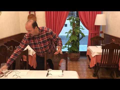 Come Apparecchiare un Tavolo al Ristorante ... Primo Giorno da Cameriere