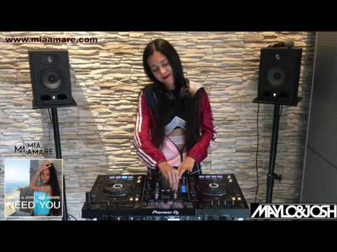 Mia Amare in the Mix Pioneer XDJ-RX New Music Deep House Maylo & Josh Funny & Happy