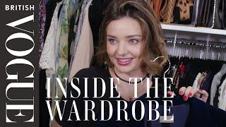 Miranda Kerr: Inside the Wardrobe | British Vogue - Video Youtube