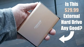 This $30 External Hard Drive Works On Both PC and Mac - Maxone SLIM series 2519