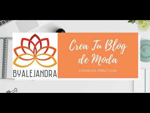 Crea tu Blog de Moda  2021