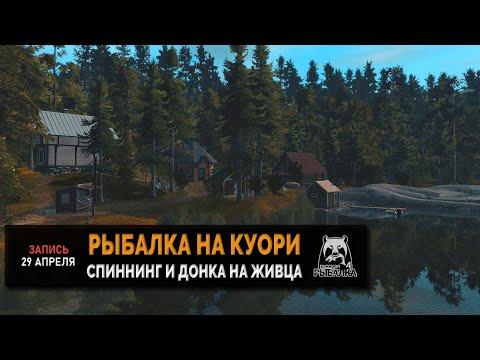 Рыбалка на озере куори.