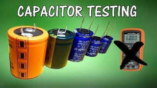 How To Test A Capacitor Without  Multimeter