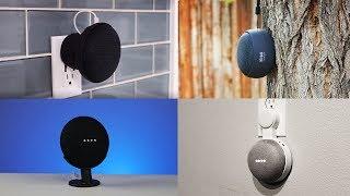 Google Home Mini Protective Battery Base & New Wall Mounts