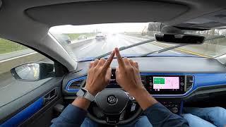 No Speed Limits - 200 km/hr Cruising - All About German Autobahn!