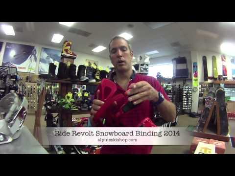 Ride Revolt Snowboard Binding 2014 Review